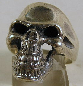 Sterling silver (925) mens skull ring #1091
