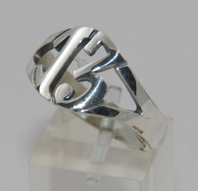 Sterling silver 13 ring. #864