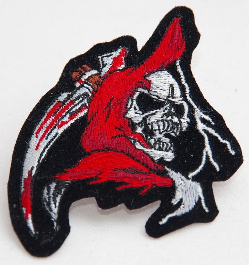 Reaper. 100mm wide embroided patch