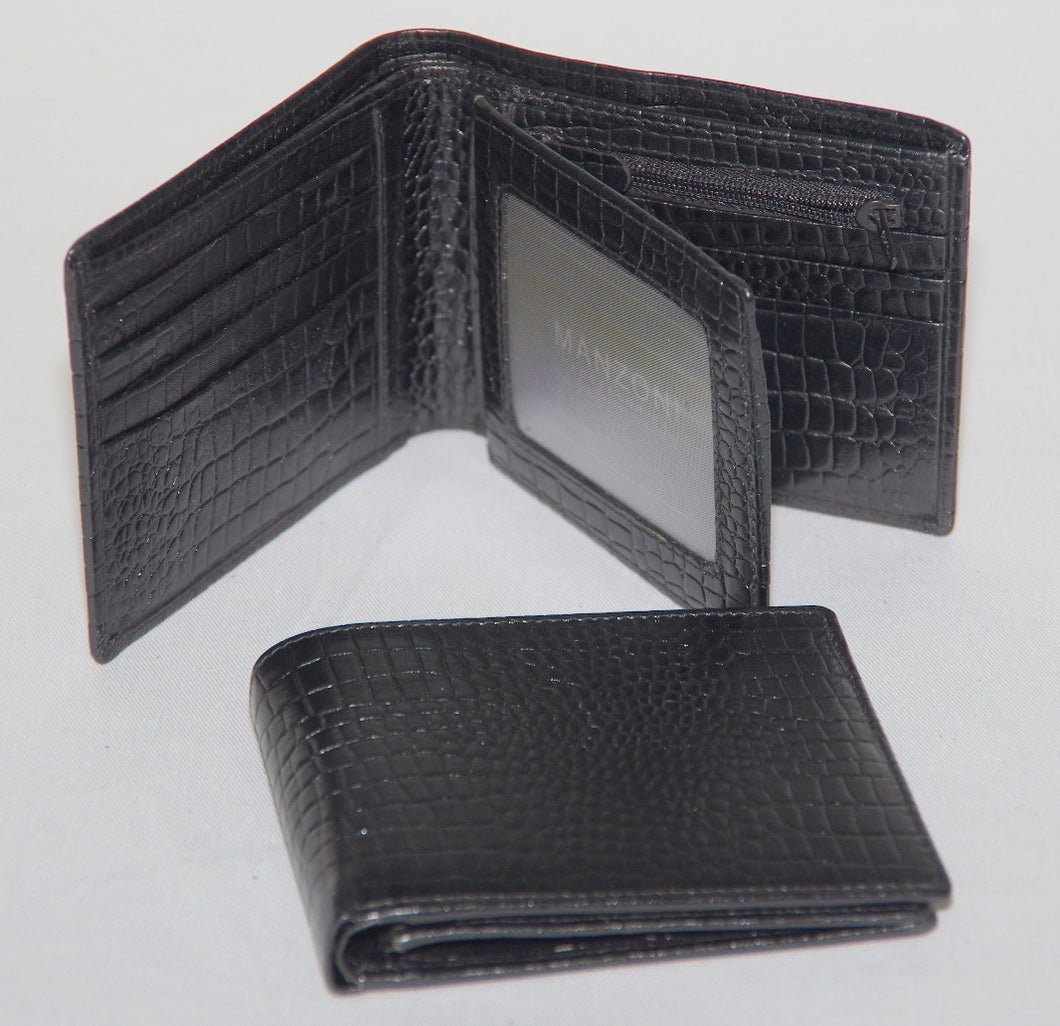 Mens leather wallet WN1T