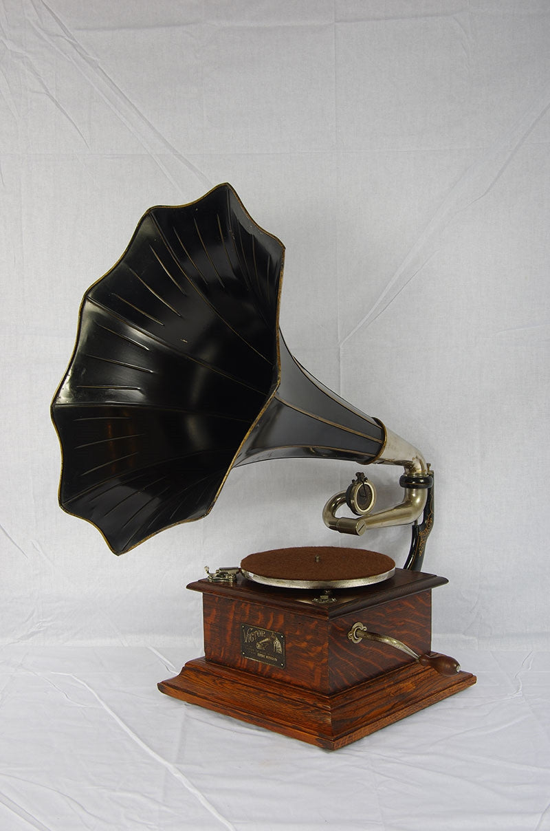 Victor 1,  His Masters Voice 1909 Serial 841A.  Sold