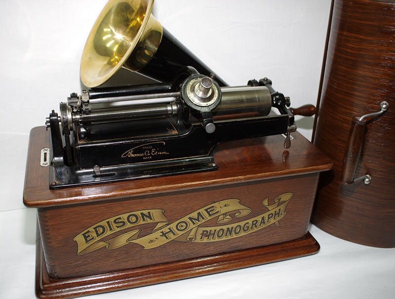 Edison model B Home cylinder phonograph 2/4 minute 1905