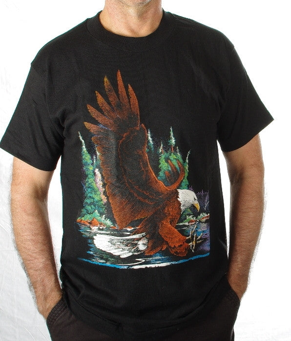 The Eagle #315. These are top quality tee-shirts made in the United States of America.