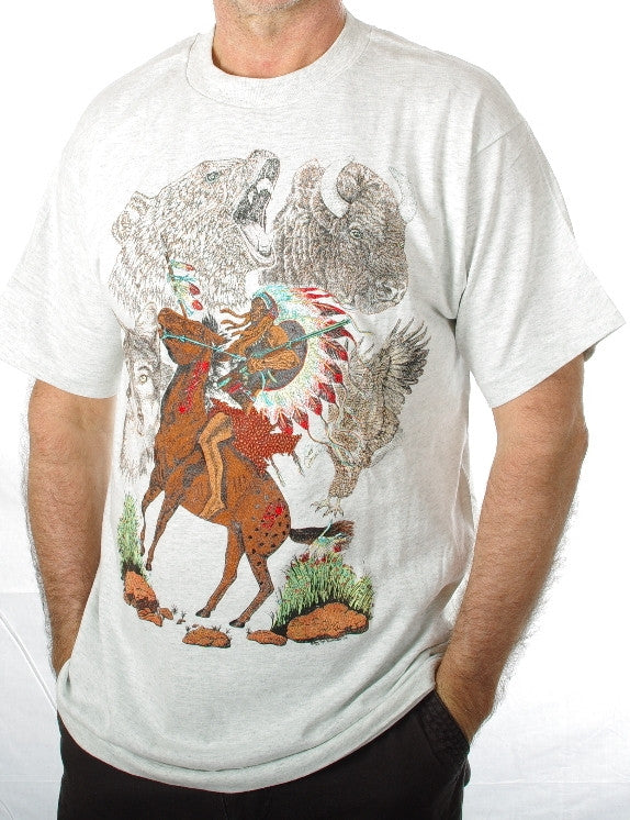 War Chief #230. These are top quality tee-shirts made in United States of America.