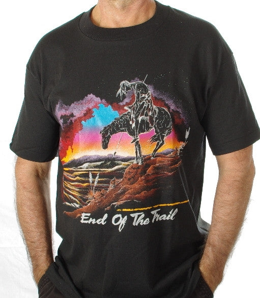 End of Trail #149.These are top quality tee-shirts made in United States of America.