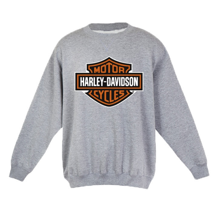 Harley-Davidson Bar and Shield Sweatshirt in Grey Marle