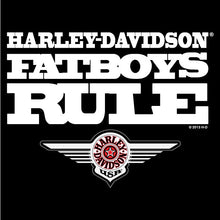 Harley-Davidson Fatboys Rule  Longsleeve with custom matching sleeves