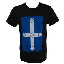 Eureka Flag in a soft discharge print.