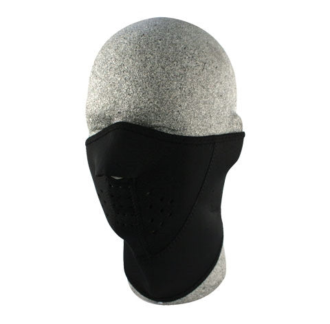 Neoprene face mask, 3-Panel Neoprene 1/2 face mask