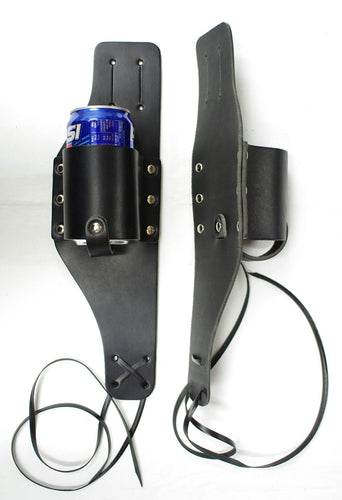 Can holster, 3.5mm to 4mm thick leather