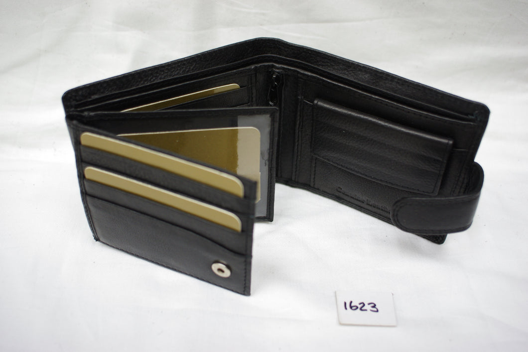 Mens leather wallet RFID #1623