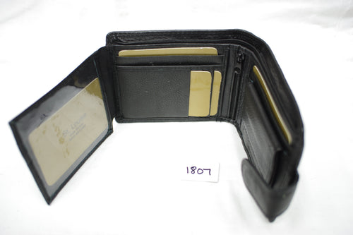 Mens leather wallet RFID #1807