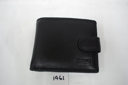 Mens leather wallet RFID #1461