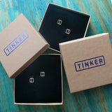 Tinker's 100% recycled packaging.