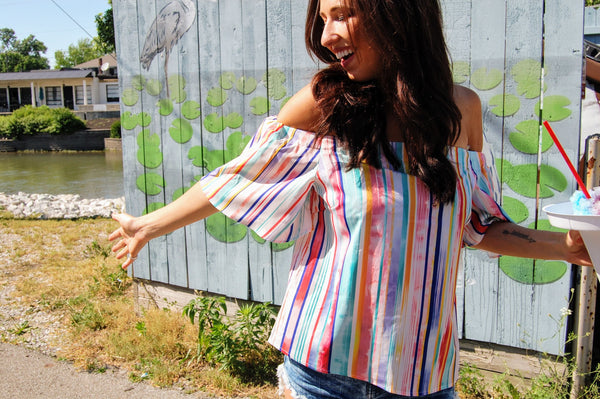 Rainbow Delight Top