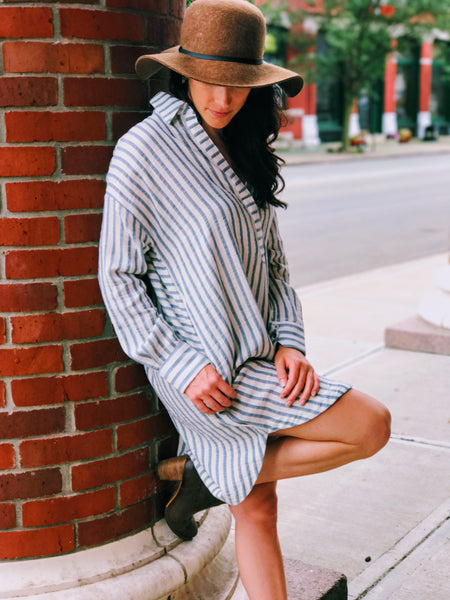 Maria's Depot Stripe Dress