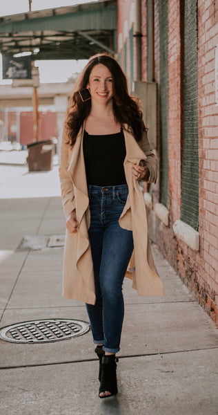 Sun and Sand Trench Coat