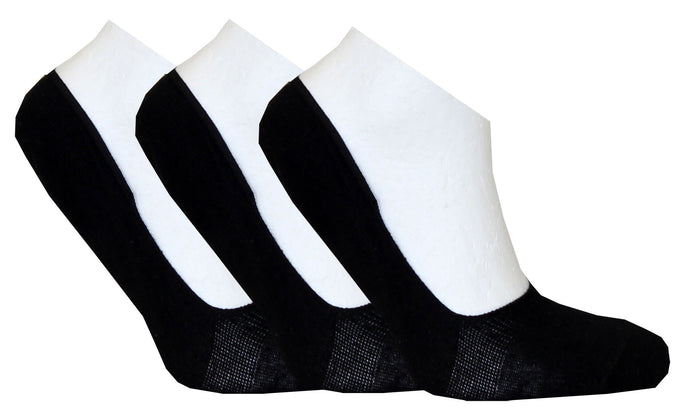No-Show Socks 3-pack