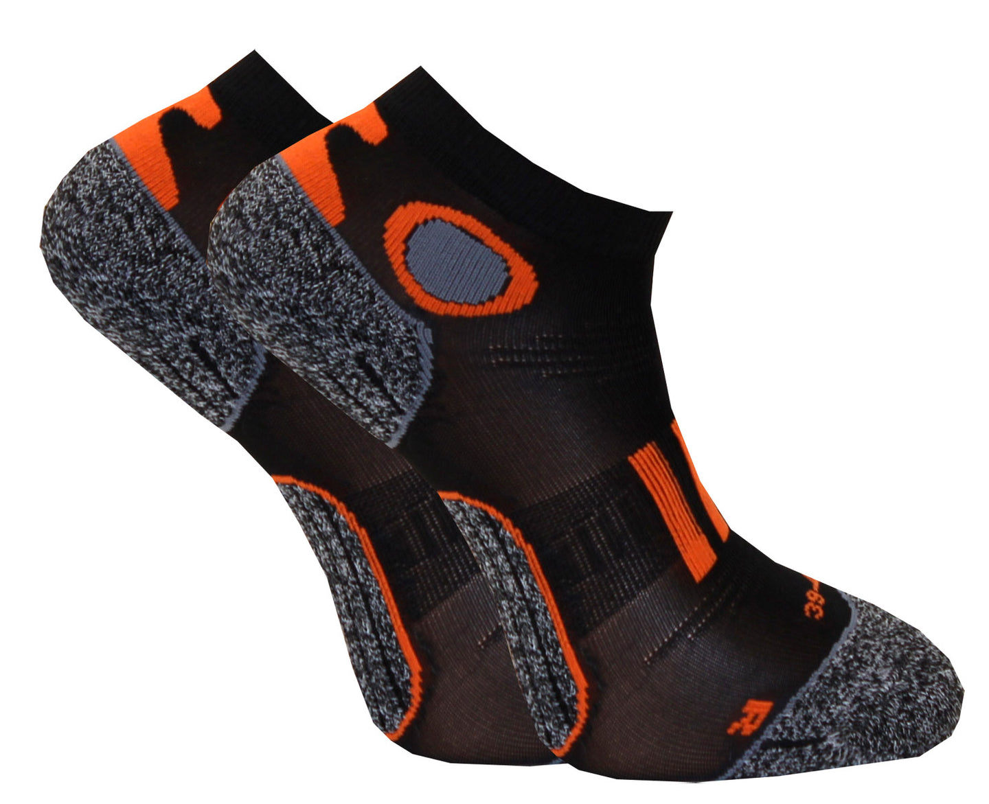 C-sole Running 2-pack Antrasit