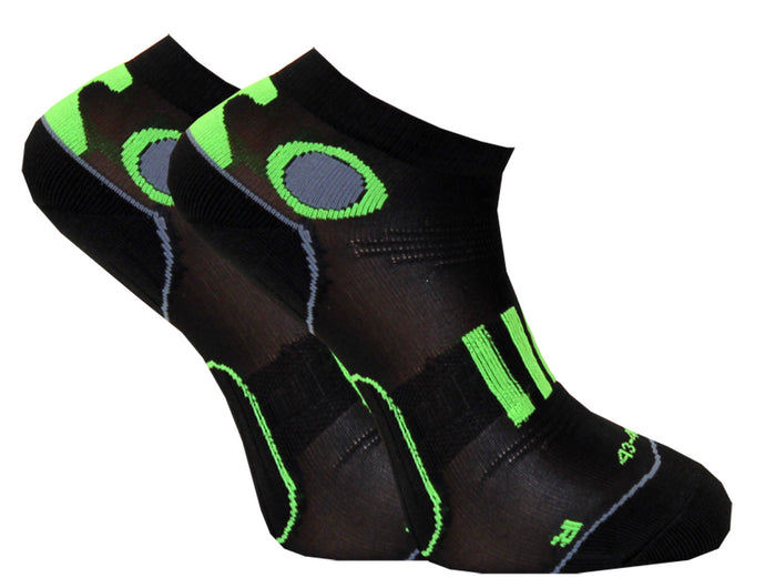 C-sole Running 2-pack Green/Black