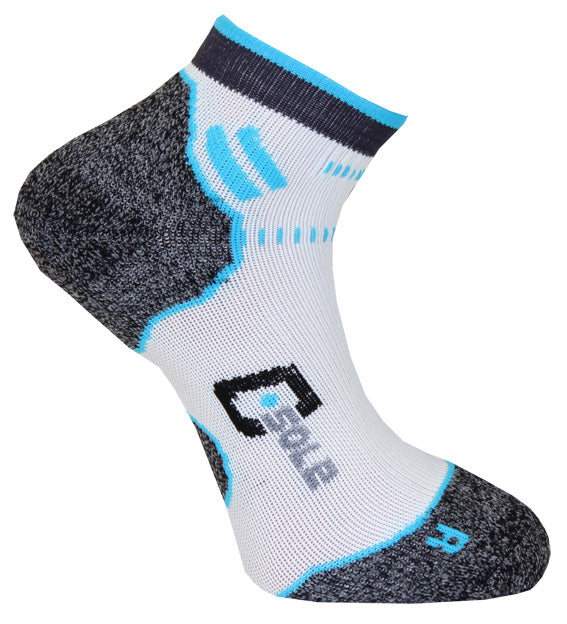 C-sole Running 1-pack White/Blue/Grey