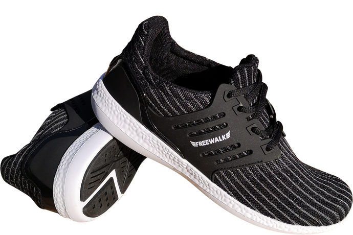 skyRUN black white sole