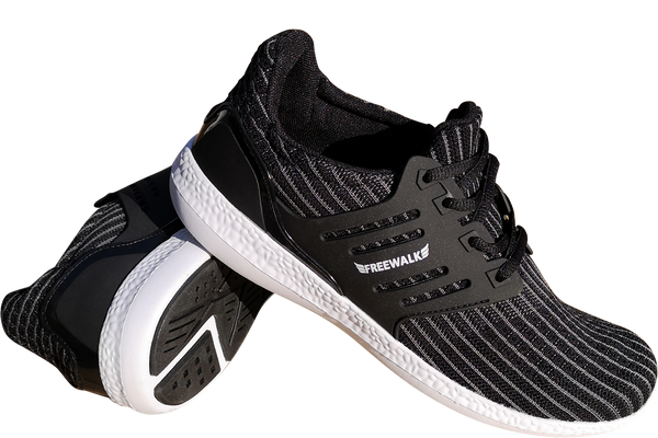 skyRUN (nyhed) black white sole