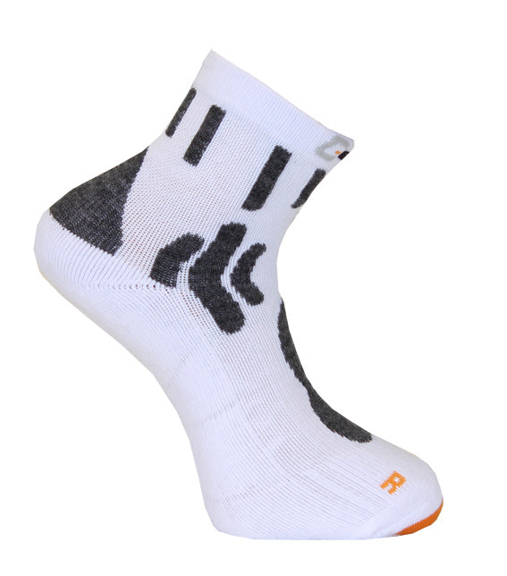 379 C-sole Running 1-pack White/Orange/Black