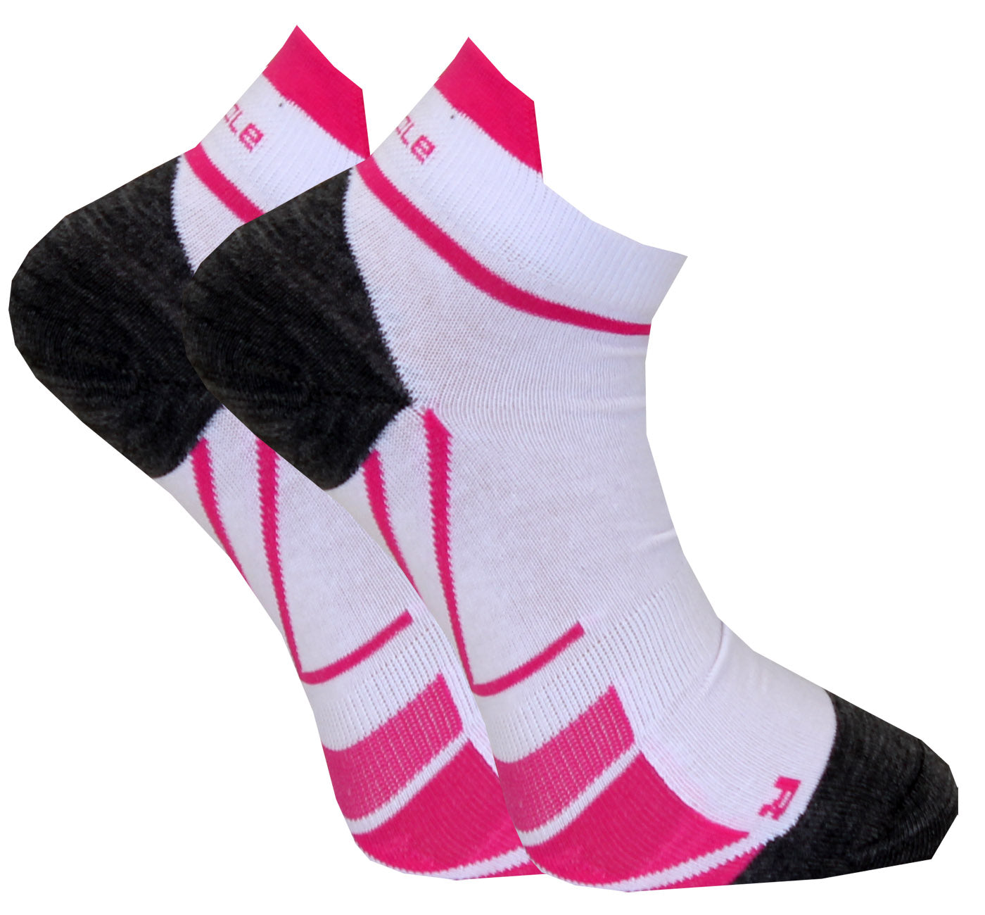 C-sole Running 2-pack HIGH White/Pink
