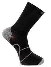 løbe sok med reflex C-sole Running 1-pack black/grey