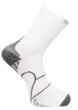 løbe sok med reflex C-sole Running 1-pack white/grey
