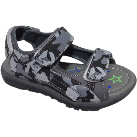 Quicklaze sandal grey/black Open toe str. 29-35