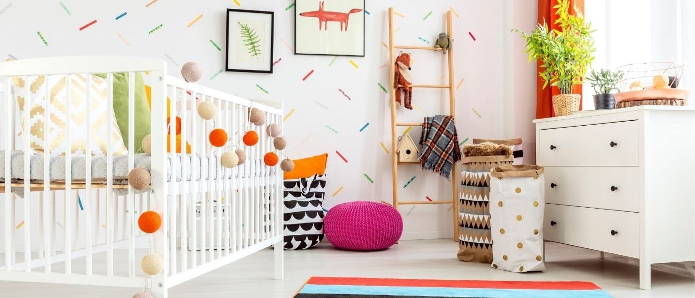 Nursery Inspirations For The Arriving Baby