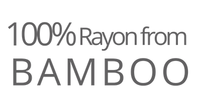 100% Rayon from Bamboo