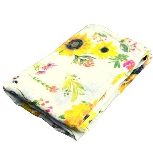 Sunflower Swaddle Blanket