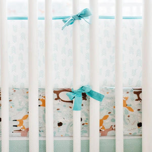 Bumper and Crib Sheet
