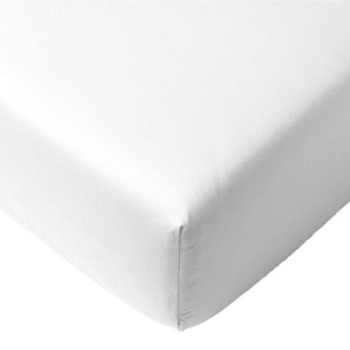 White Crib Sheet