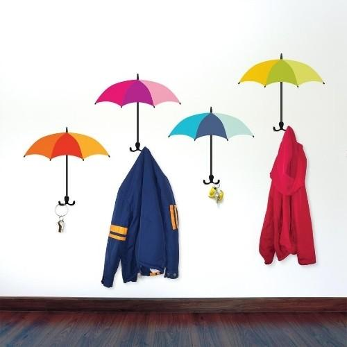 Umbrella Coat Check Hooks