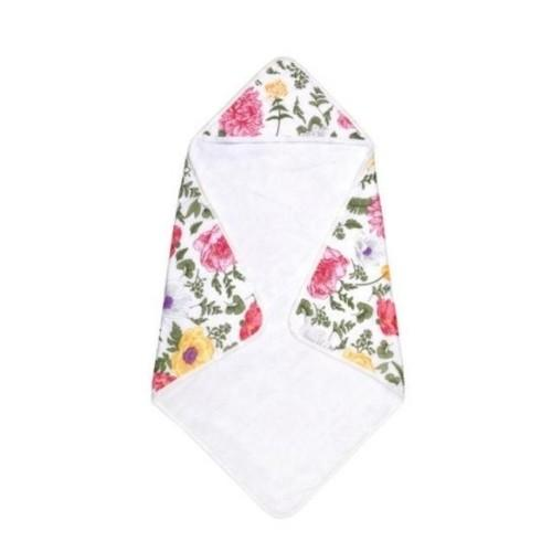Floral Hooded Towel