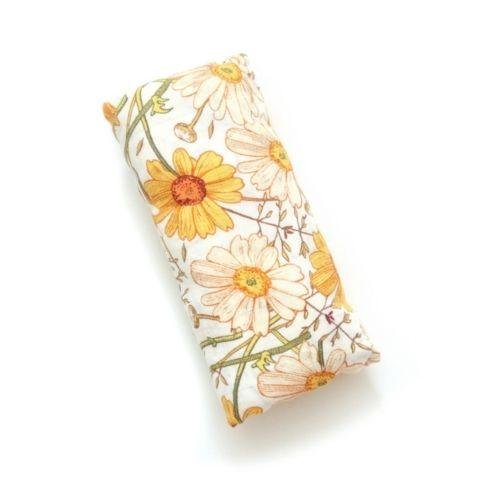 Autumn Floral Swaddle Blanket