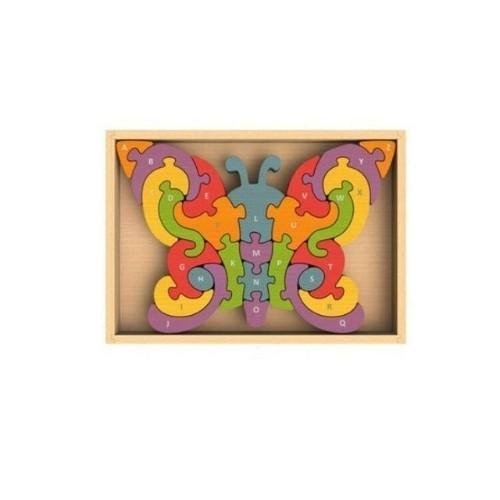 Butterfly Alphabet Puzzle