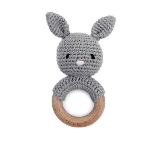 Rabbit Teether & Rattle