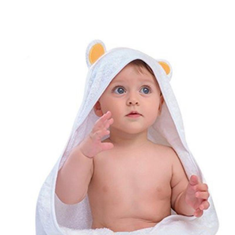 Hooded Bear Baby Towel