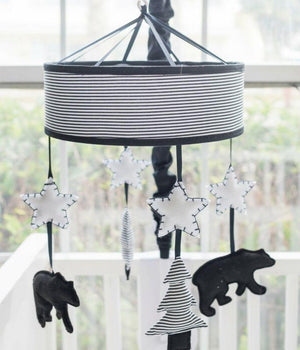 Black Bear Nursery Mobile