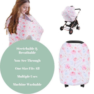 Multi-Cover Nursing & Car Seat Cover