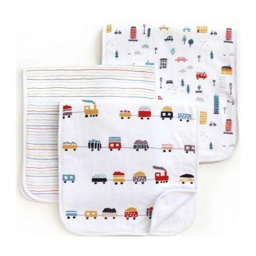 Urban Life Burp Cloth Set