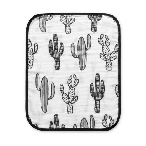 Reversible Cactus Arrows Burp Cloth