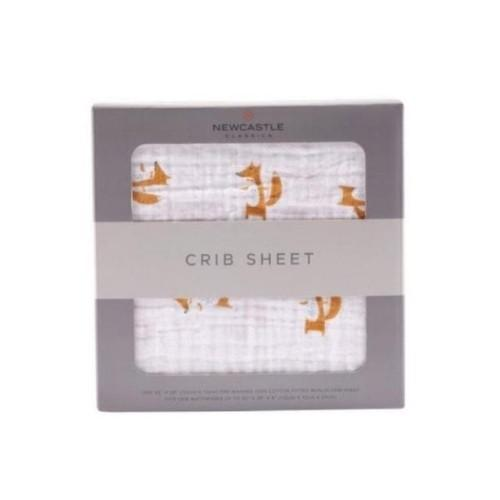 Forest Fox Crib Sheet