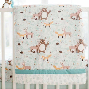 Woodland Forest Crib Sheet Bundle