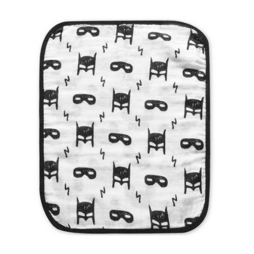 Reversible Heroes Burp Cloth